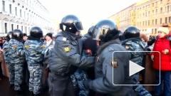 """В Петербурге на акции """"За честные выборы"""" задержано 70 человек"""