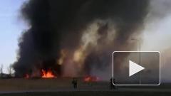При тушении горящего камыша в Ростове-на-Дону погиб пожарный