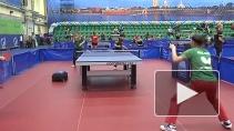 Международный турнир по настольному теннису прошёл в Петербурге