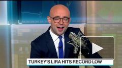 Турецкая лира обновляет исторический минимум