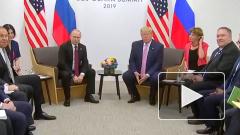 Путин в ответ на шутку Асада предложил пригласить Трампа в Дамаск