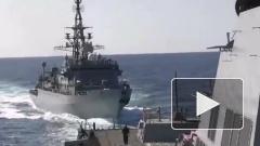 СМИ сообщили об опасном сближении российского корабля с американским эсминцем