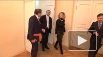Лауреат Нобелевской премии по литературе Орхан Памук с визитом в Петербурге