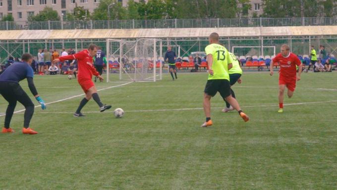 Турнир по футболу среди команд округов Выборга
