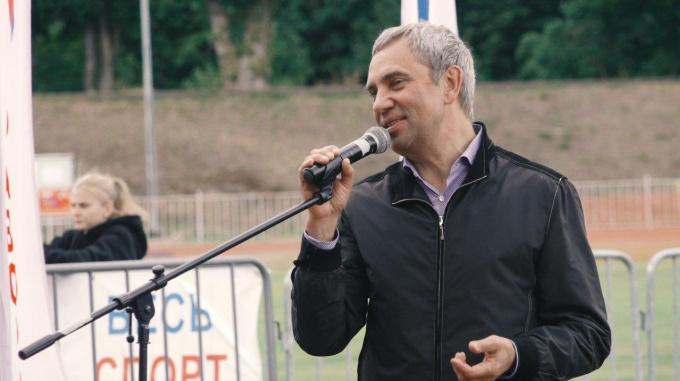 председатель общественной организации Фаворит Выборг Александр Петров