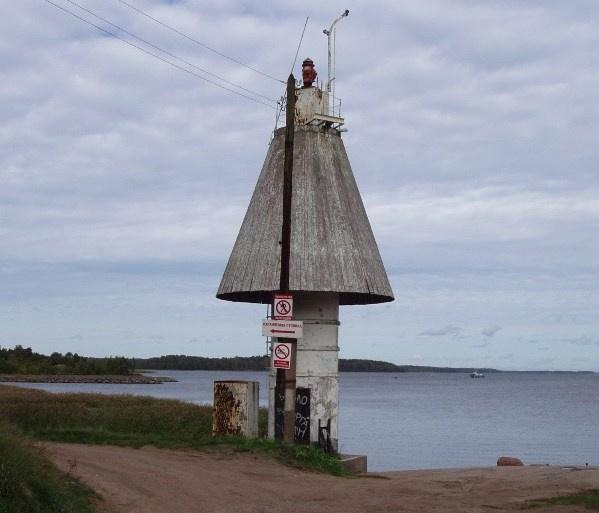 Так створный навигационный знак Паттери выглядел до начала реконструкции. Фото http://www.rosmorport.ru
