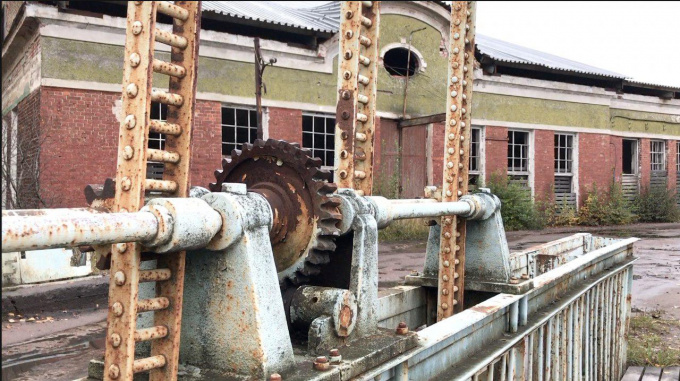 Гвоздильный завод в Перово