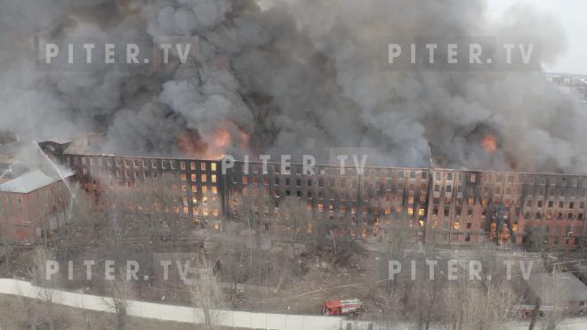 """Пожар на """"Невской мануфактуре"""": уголовное дело и противопожарные нарушения"""