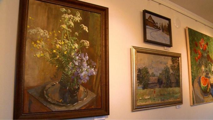 Выставка живописи Натальи и Сергея Филипповых открылась в Эрмитаж-Выборг