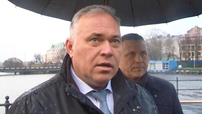 Дмитрий Никулин глава выборгского района ленобласти