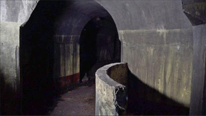 Тоннели порохового погреба у мызы Хертуала