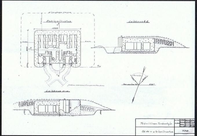 план-схема ДОТа Sk16