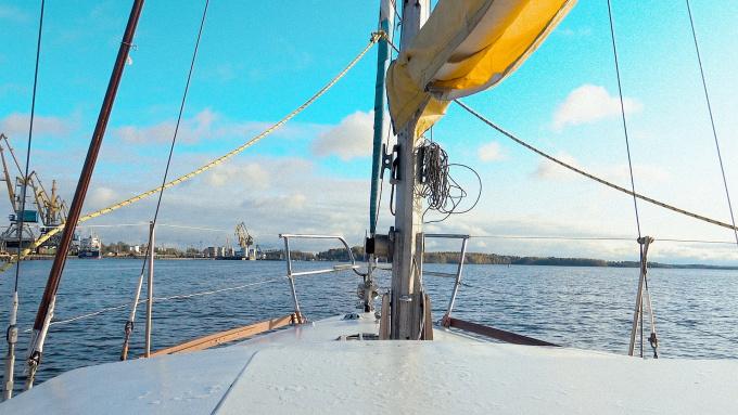 яхтинг в выборгском заливе