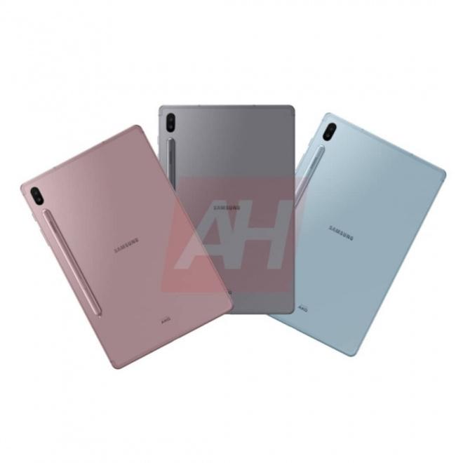 Снимки нового планшета Samsung Galaxy Tab S6 появились в Интернете