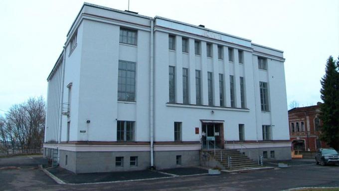 Ленинградский областной государственный архив в г. Выборге