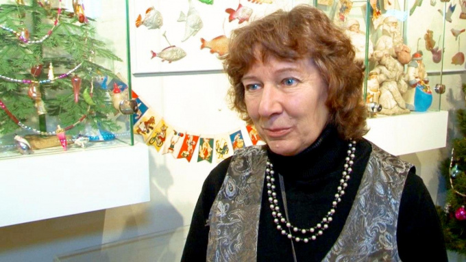 Елена Гоголь, зав.сектором музейной педагогики Дома-музея Ленина