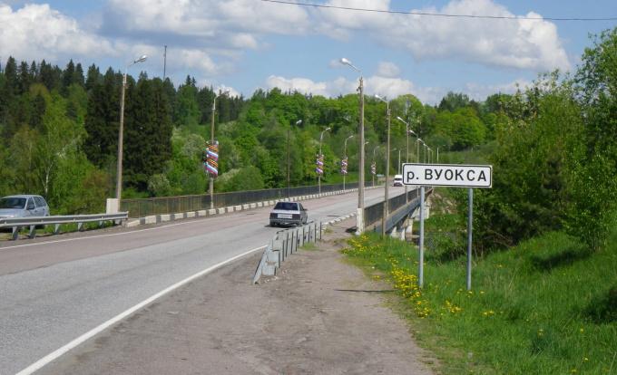 Ограничение движения по мосту через Вуоксу