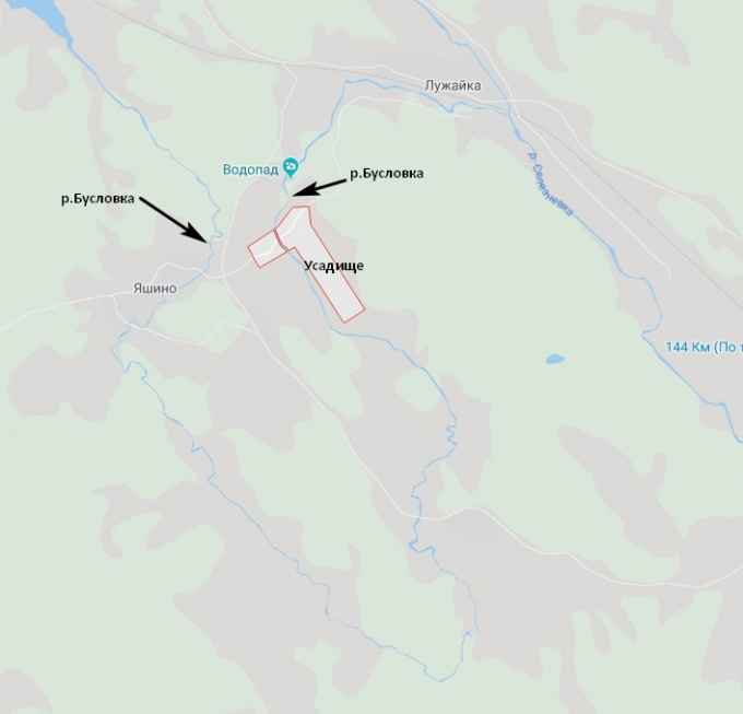 Плотина Яшинская ГЭС на Бусловке в Выборгском районе