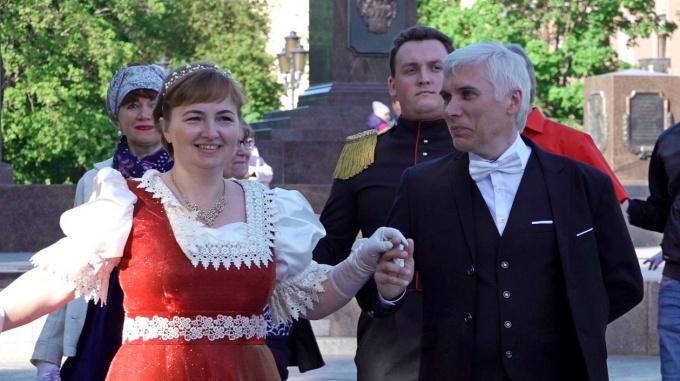 Выборгское бальное сообщество бал в День России