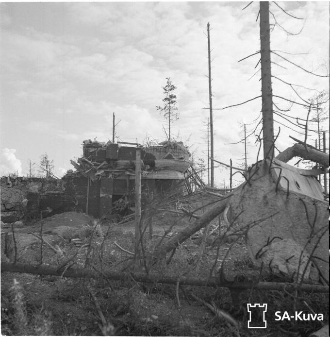 ДОТ Sk16 укрепрайона Суммакюля