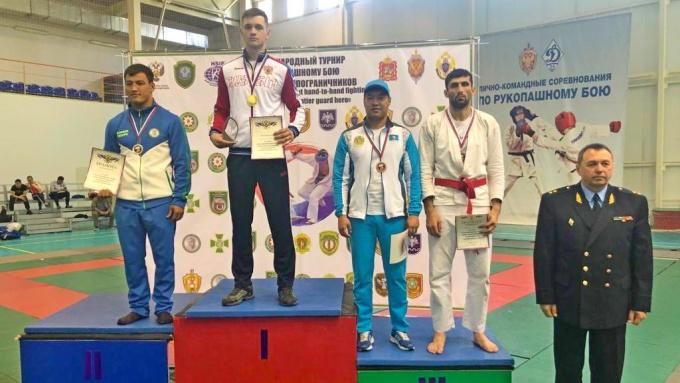 Выборжец Вячеслав Омельченко выиграл междунардный турнир по рукопашному бою