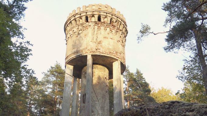 Водонапорная башня Выборгской учительской семинарии