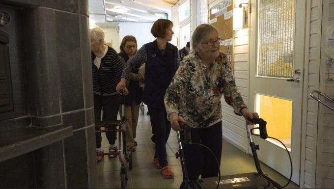 Общества инвалидов Выборга и Финляндии возобновили сотрудничество