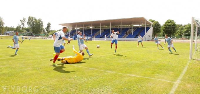 футбол правительство ленобласти против администрации выборга