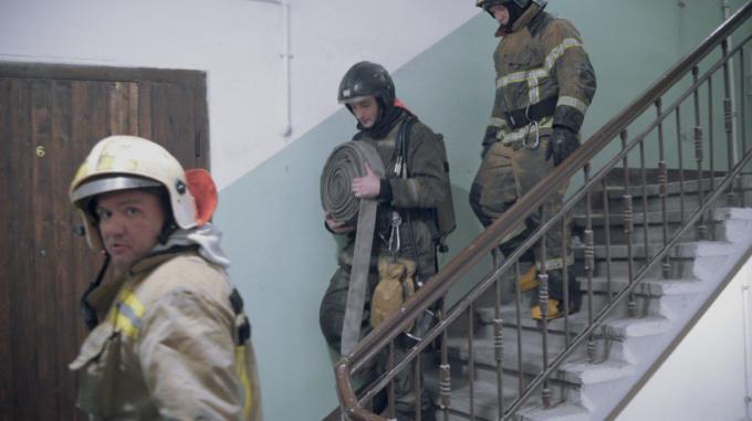 Пожар в доме памятнике культуры в Выборге