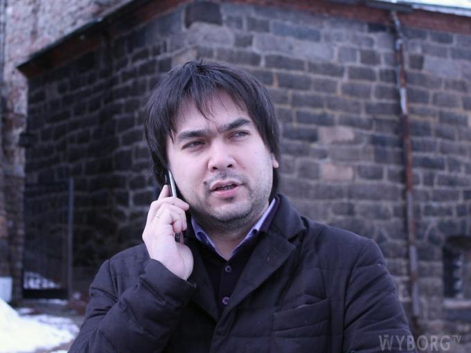 Владимир Цой директор Выборгского замка