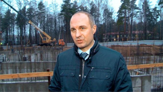 Евгений Шестаков, глава администрации Приморска