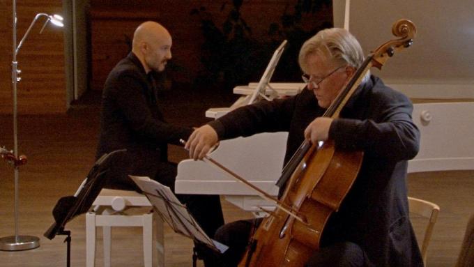Датский квартет Rudersdal Chamber Players с аншлагом выступил в библиотеке Аалто