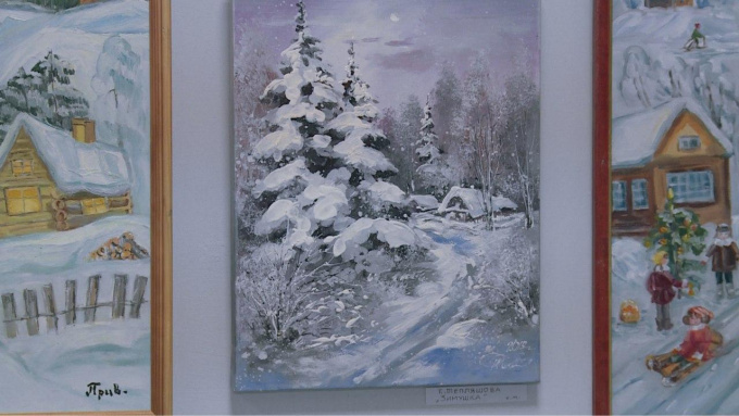 Рождественская выставка в арт-холл выборг