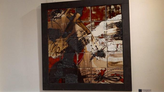 выставка работ художников кафедр художественного текстиля и художественной керамики и стекла академии Штиглица