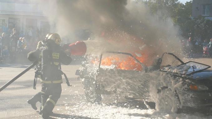 Пожарные провели в приморске акцию Готовность 01