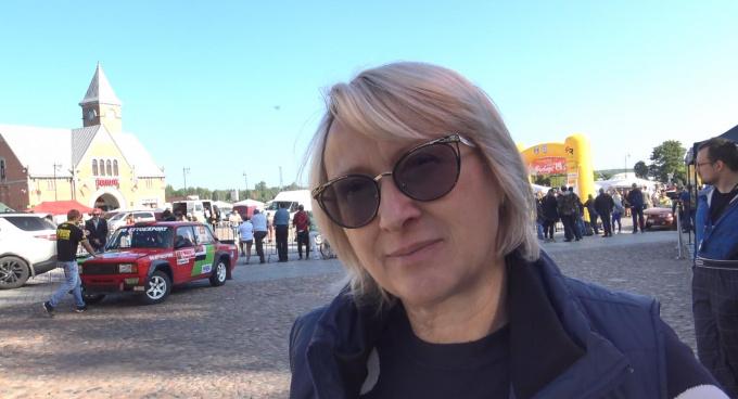 Ольга Сивачева, директор Федерации автомобильного спорта Ленобласти