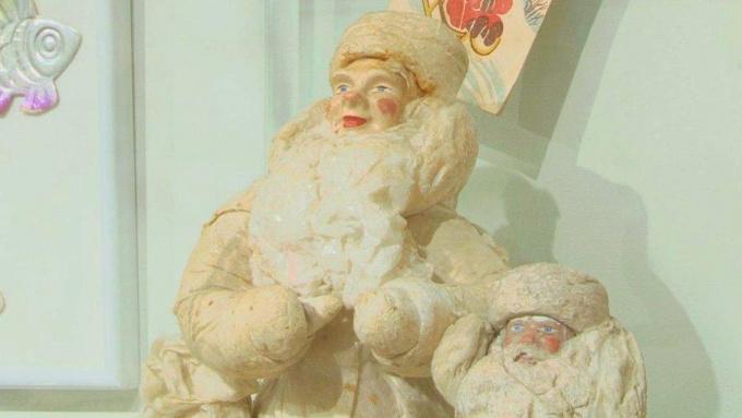 Выставка елочных игрушек советского периода в Доме-музее Ленина в Выборге