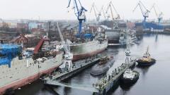 """""""Адмиралтейские верфи"""" начали швартовные испытания подводной лодки """"Магадан"""""""