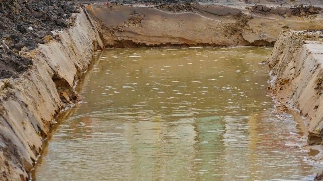 На Серафимовском кладбище общегражданские захоронения подтопили грунтовые воды