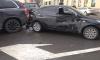 На перекрестке Большого Проспекта произошла массовая авария с автобусом