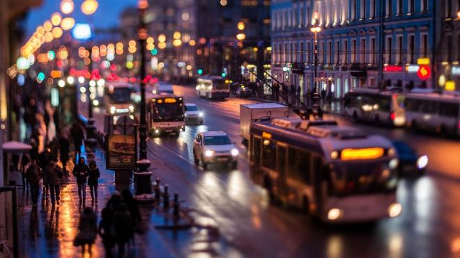 Ночные автобусы в Петербурге возьмут перерыв до Нового года