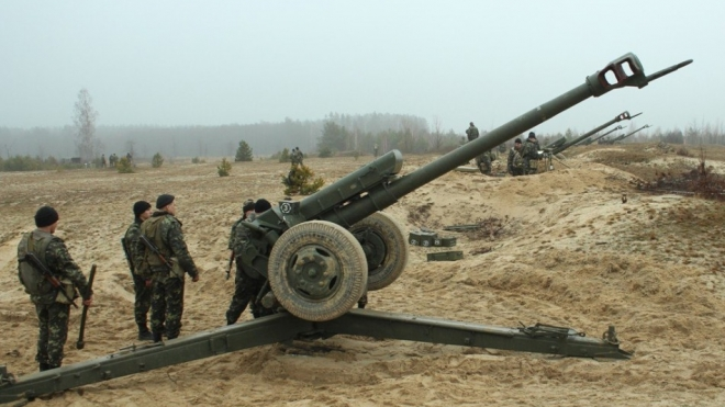На окраине Донецка украинская артиллерия уничтожила газопровод
