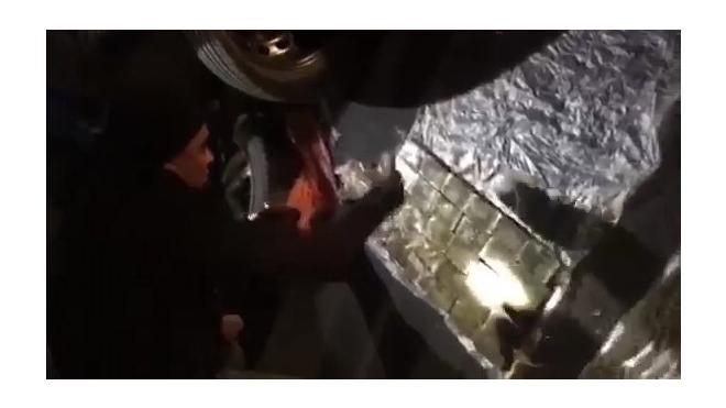 Полиция Ленобласти нашла 20 кг гашиша в запасных колесах Volkswagen
