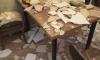 В Кудрово в квартире во время праздника на гостей обрушился потолок