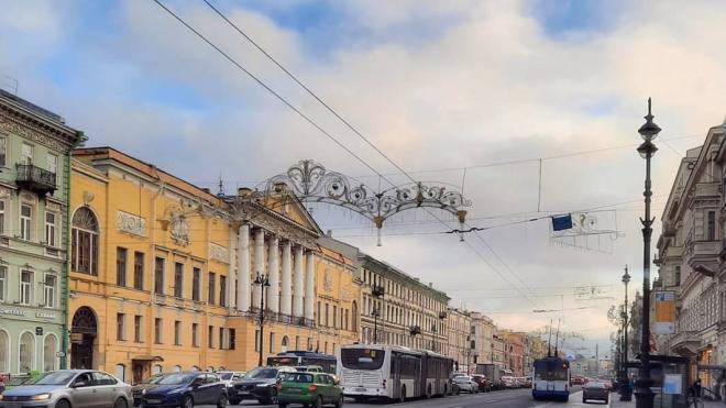 В воскресенье Петербург окажется на границе антициклона с севера
