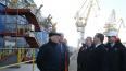 Медведев посетил атомный ледокол на Балтийском заводе ...