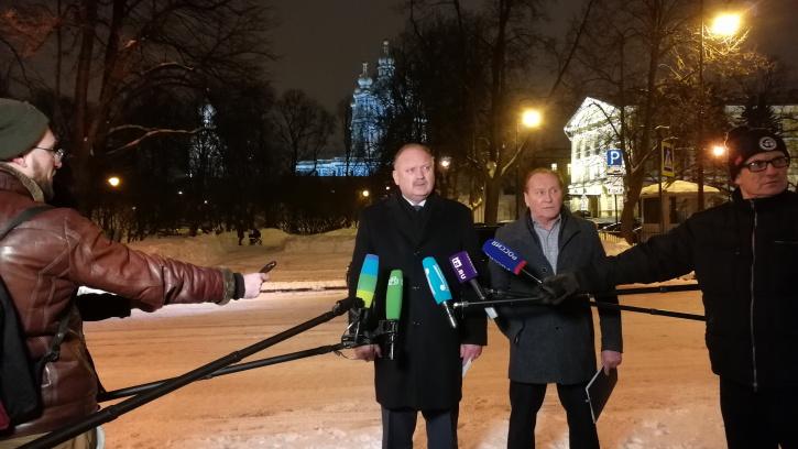 Николай Бондаренко подвел итоги уборки Петербурга за минувшую неделю