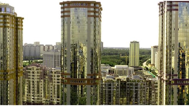 Столичный федеральный округ поджимает недвижимость Подмосковья