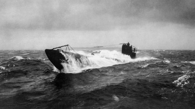 В Северном море найдена германская подводная лодка образца 1916 года