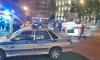 На проспекте Стачек такси протаранило полицейскую машину